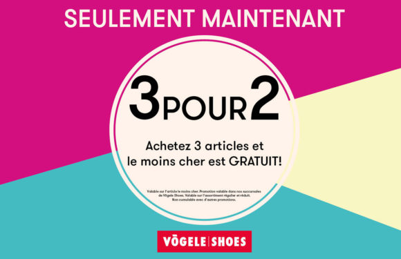 Vögele Shoes |3 POUR 2 by Vögele Shoes/Bingo Shoe-Discount|