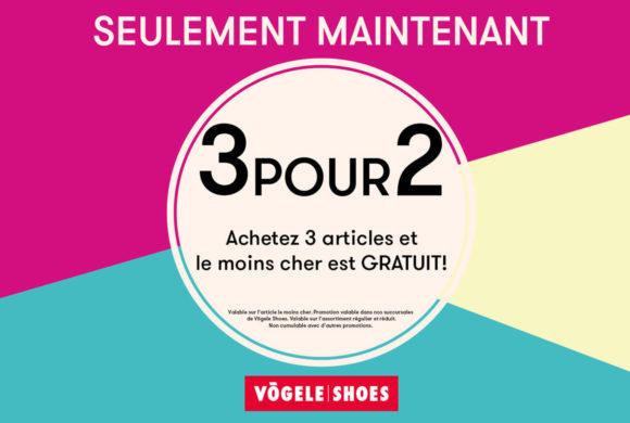 Vögele Shoes |3 POUR 2 by Vögele Shoes/Bingo Shoe-Discount|