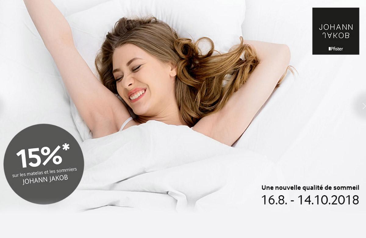 PFISTER |Nouvelle qualité de sommeil|