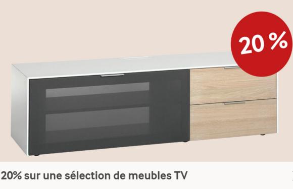 PFISTER |20% sur une sélection de meubles TV |