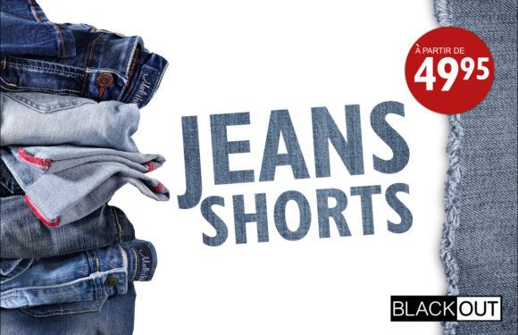 BLACKOUT |Short jeans|