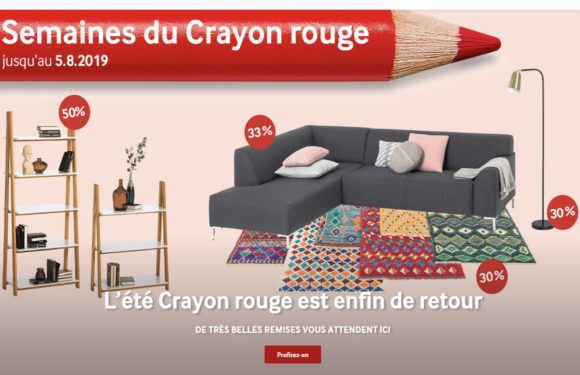 PFISTER  Semaines du crayon rouge 