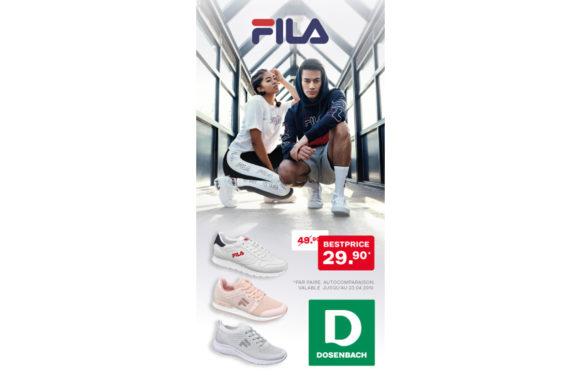 DOSENBACH |Baskets FILA|
