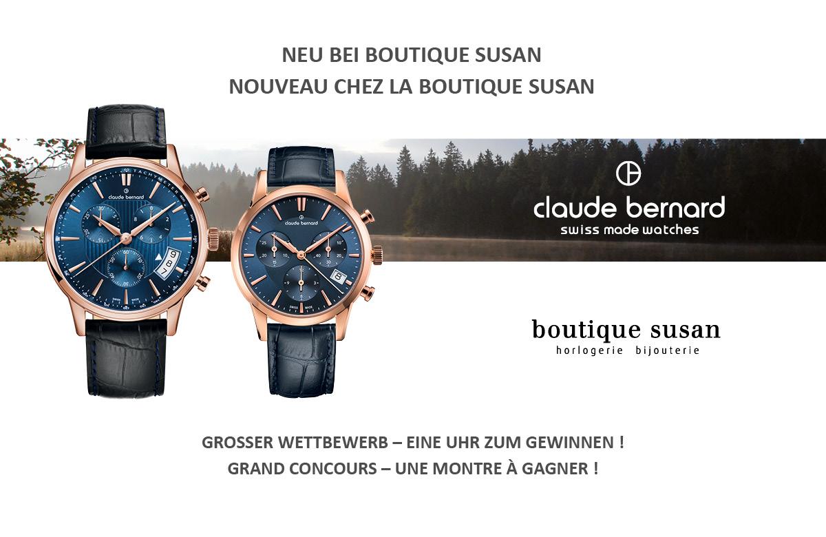 BOUTIQUE SUSAN |Nouveau : Claude Bernard|