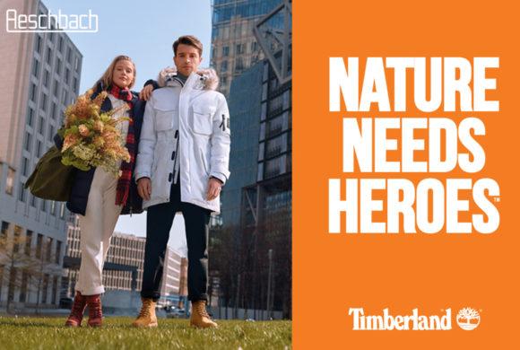 AESCHBACH |Timberland: La nature a besoin de héros |