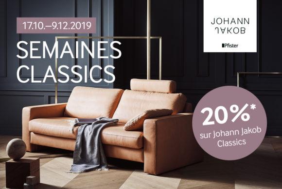 PFISTER |20% canapés de la gamme Classics|