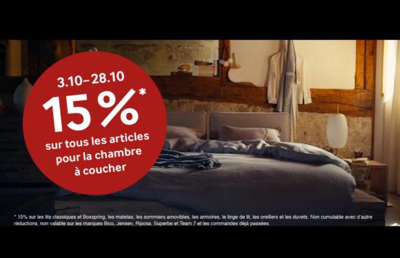 PFISTER |15% sur les chambres à coucher|