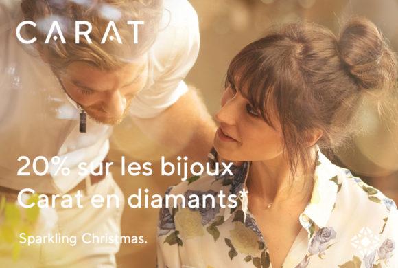 CARAT |20% sur les bijoux Carat en diamants|