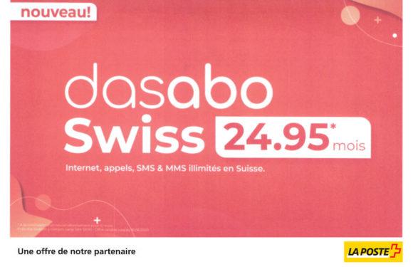 LA POSTE |Dasabo Swiss|