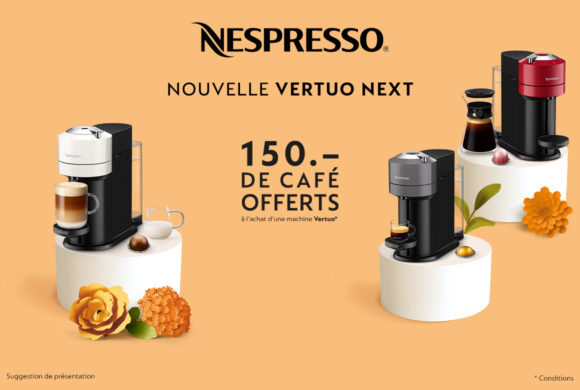 Nespresso |Nouvelle machine Vertuo Next|